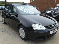 USED 2008 VOLKSWAGEN GOLF 1.4 S 5dr A/C, 1 PREVIOUS OWNER