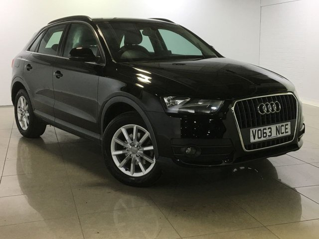 View our 2013 63 AUDI Q3 2.0 TDI SE 5d 174 BHP