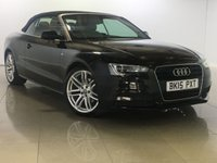 USED 2015 15 AUDI A5 2.0 TDI S LINE SPECIAL EDITION 2d AUTO 175 BHP SAT NAV / XENON / B&O SOUND