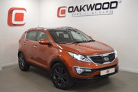 USED 2011 61 KIA SPORTAGE 1.7 CRDI 3 5d 114 BHP *PANORAMIC ROOF* STUNNING RARE ORANGE METALLIC