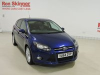 USED 2014 64 FORD FOCUS 1.6 ZETEC TDCI 5d 113 BHP