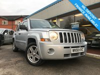 USED 2008 58 JEEP PATRIOT 2.4 LIMITED 5d AUTO 168 BHP LOW MILEAGE, AUTO, LEATHER, CRUISE