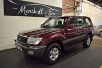 USED 1999 T TOYOTA LAND CRUISER AMAZON 4.2 GX TD 5d AUTO 201 BHP