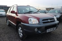 USED 2005 05 HYUNDAI SANTA FE 2.0 CDX CRTD 5d 112 BHP CLEARANCE AS IS . NOT AVAILABLE ON FINANCE.