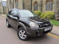 2004 HYUNDAI TUCSON 2.0 GSI 4WD 5d 140 BHP £1995.00