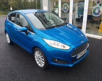 USED 2015 64 FORD FIESTA 1.0 TITANIUM X ECOBOOST (100PS) THIS VEHICLE IS AT SITE 1 - TO VIEW CALL US ON 01903 892224