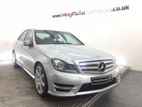USED 2012 61 MERCEDES-BENZ C CLASS 2.1 C250 CDI BLUEEFFICIENCY SPORT 4d 202 BHP