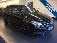 USED 2014 14 MERCEDES-BENZ B CLASS 1.5 B180 CDI BLUEEFFICIENCY SPORT 5d 109 BHP GREAT SPEC INCLUDING FULL LEATHER, REAR VIEW CAMERA,  PRIVACY GLASS HAVING COVERED ONLY 30,000 MILES, £30 A YEAR TO TAX,