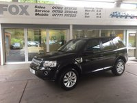 USED 2014 14 LAND ROVER FREELANDER 2.2 SD4 HSE 5d AUTO 190 BHP LAND ROVER FREELANDER 2.2 SD4 HSE 5d AUTO 190 BHP