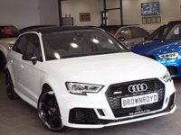 USED 2017 67 AUDI RS3 RS3 2.5 TFSi Sportback S Tronic Quattro 5 dr PAN ROOF+BUCKETS+MAG RIDE+