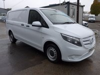 USED 2015 65 MERCEDES-BENZ VITO 1.6 111 CDI LWB, 111 BHP [EURO 6], DIRECT FROM MERCEDES BENZ