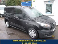 2016 FORD TRANSIT CONNECT 1.6 220 DCB, 5 SEATER CREW VAN, SWB, 95 BHP, METALLIC PANTHER BLACK, ONLY 30K MLS! BLUETOOTH, ONE OWNER, 2 YEAR WARRANTY £10500.00