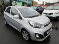 USED 2012 12 KIA PICANTO 1.0 1 5d 68 BHP FREE ROAD TAX... JUST ARRIVED ..TEST DRIVE TODAY