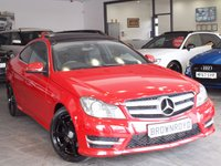 USED 2011 61 MERCEDES-BENZ C CLASS 2.1 C250 CDI BLUEEFFICIENCY AMG SPORT ED125 2d AUTO 204 BHP +PAN ROOF+SAT NAV+H-LEATHER+FSH+
