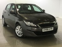 USED 2016 66 PEUGEOT 308 1.6 BLUE HDI S/S ACCESS 5d 100 BHP