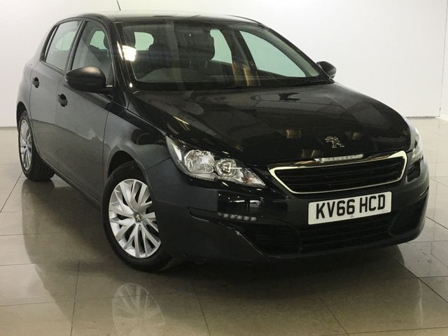 View our 2016 66 PEUGEOT 308 1.6 BLUE HDI S/S ACCESS 5d 100 BHP
