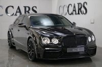 USED 2014 63 BENTLEY FLYING SPUR 6.0 W12 4d AUTO 616 BHP VAT QUALIFYING FULL ONYX GTX700-4 FACTORY CONVERSION BIG SPEC MULLINER PACK MAJOR BENTLEY SERVICE JUST COMPLETED
