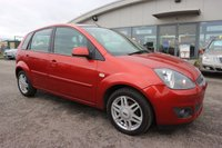 USED 2007 07 FORD FIESTA 1.6 GHIA 16V 5d 100 BHP * 25% DEPOSIT NO CREDIT CHECKS FINANCE AVAILABLE TO ALL *