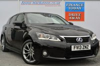 USED 2013 13 LEXUS CT 1.8 200H ADVANCE 5d AUTO 136 BHP **ONE OWNER FROM NEW**