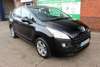 USED 2013 63 PEUGEOT 3008 1.6 E-HDI ACTIVE 5d AUTO 115 BHP +AUTOMATIC +FULL Service History.