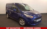 USED 2016 16 FORD TRANSIT CONNECT 1.6TDCi 115 BHP 200 Limited With *Sat Nav* Reversing Camera Air Con Bluetooth 3 Seats  **Drive Away Today** Over The Phone Low Rate Finance Available, Just Call us on 01709 866668