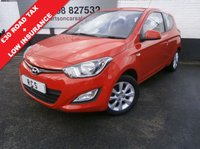 USED 2014 14 HYUNDAI I20 1.2 ACTIVE 3dr 1 OWNER LOW MILEAGE ECONOMICAL HATCH