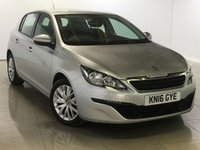 USED 2016 16 PEUGEOT 308 1.6 BLUE HDI S/S ACCESS 5d 100 BHP