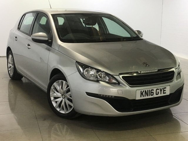 View our 2016 16 PEUGEOT 308 1.6 BLUE HDI S/S ACCESS 5d 100 BHP