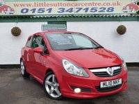 USED 2010 10 VAUXHALL CORSA 1.4 SRI 3d 98 BHP FULL SERVICE HISTORY, FINANCE AVAILABLE, 12 MONTHS MOT
