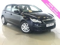 USED 2016 16 PEUGEOT 308 1.6 BLUE HDI S/S ACCESS 5d 100 BHP 1 Owner/Bluetooth/Air Con