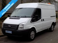 2013 FORD TRANSIT 2.2 RWD 350 MWB MEDIUM ROOF 125 BHP 6 SPEED £6495.00