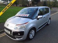 USED 2011 11 CITROEN C3 PICASSO 1.6 PICASSO VTR PLUS HDI 5d 90 BHP 49,000 GUARANTEED MILES - SERVICE HISTORY - 2 OWNERS FROM NEW - £30 ROAD TAX