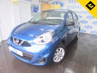 USED 2016 66 NISSAN MICRA 1.2 VIBE 5d 79 BHP