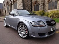 USED 2006 55 AUDI TT 1.8 QUATTRO SPORT 3d 245 BHP NEW ENGINE AND TURBO FITTED BY AUDI WITH RECEIPTS