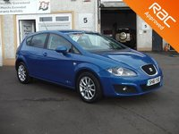 USED 2011 61 SEAT LEON 1.2 TSI SE COPA 5d 103 BHP Touchscreen media system ,Sat Nav ,Bluetooth 4 service stamps