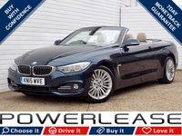 2015 BMW 4 SERIES 3.0 435I LUXURY 2d AUTO 302 BHP £23949.00