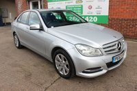 USED 2013 63 MERCEDES-BENZ C CLASS 2.1 C220 CDI BLUEEFFICIENCY EXECUTIVE SE 4d 168 BHP +Sat Nav +LEATHER +Bluetooth.