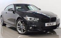 USED 2015 65 BMW 4 SERIES 3.0 435D XDRIVE M SPORT 2d AUTO 309 BHP
