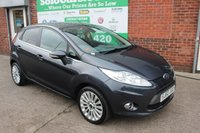 USED 2010 60 FORD FIESTA 1.4 TITANIUM 5d 96 BHP +Highest Spec TITANIUM Model.