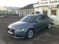 USED 2014 14 AUDI A3 2.0 TDI SPORT 5d 148 BHP £53 PER WEEK NO DEPOSIT, SEE FINANCE LINK BELOW