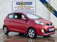 USED 2013 63 KIA PICANTO 1.0 1 3d 68 BHP Full Service History Free Tax 0% Deposit Finance Available
