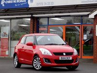 USED 2014 14 SUZUKI SWIFT 1.2 SZ3 3dr * Full Leather * *ONLY 9.9% APR*