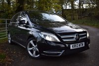 2013 MERCEDES-BENZ B CLASS 1.8 B180 CDI BLUEEFFICIENCY SPORT 5d AUTO 109 BHP £9995.00