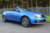 USED 2011 61 VOLKSWAGEN EOS 2.0 SE TDI BLUEMOTION TECHNOLOGY 2d 139 BHP A BEAUTIFUL LOW MILEAGE EOS WITH A FULL SERVICE HISTORY!!!