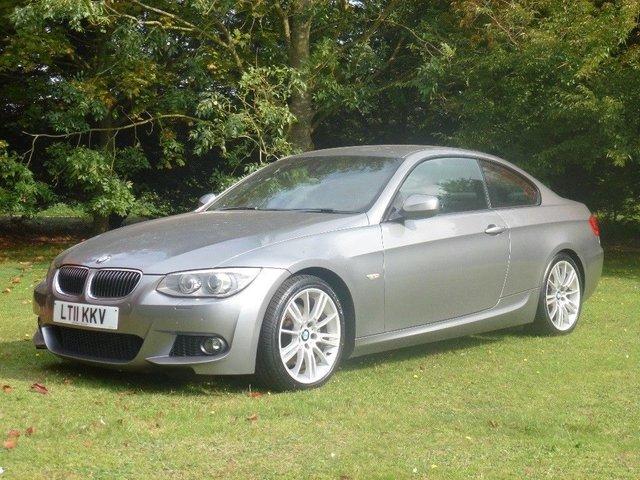 2011 11 BMW 3 SERIES 3.0D 325D M SPORT AUTO COUPE