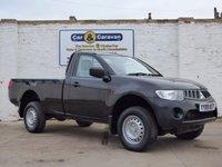 2008 MITSUBISHI L200 2.5 4WD 4LIFE SCB 1d 134 BHP £5788.00