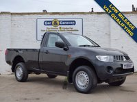 USED 2008 08 MITSUBISHI L200 2.5 4WD 4LIFE SCB 1d 134 BHP Low Mileage Bluetooth VAT Qual 0% Deposit Finance Available