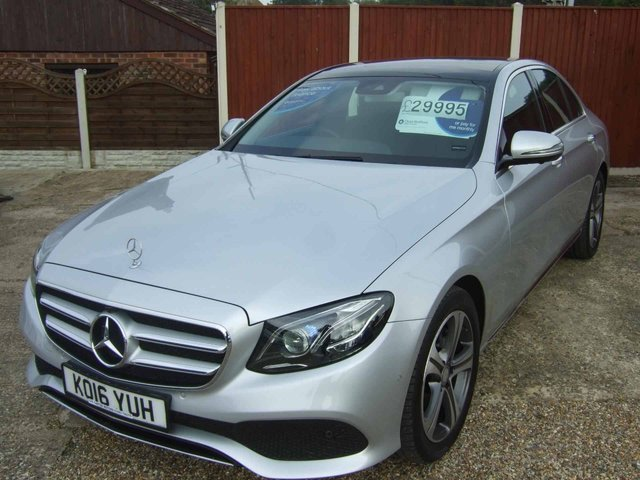 View our 2016 16 MERCEDES-BENZ E-CLASS 2.0 E 220 D SE PREMIUM PLUS 4d AUTO 192 BHP