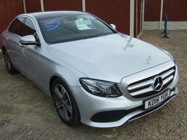 MERCEDES-BENZ E-CLASS at Click Motors