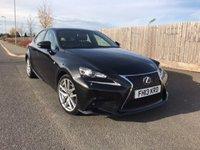 2013 LEXUS IS 2.5 300H F SPORT 4d AUTO 220 BHP £16750.00